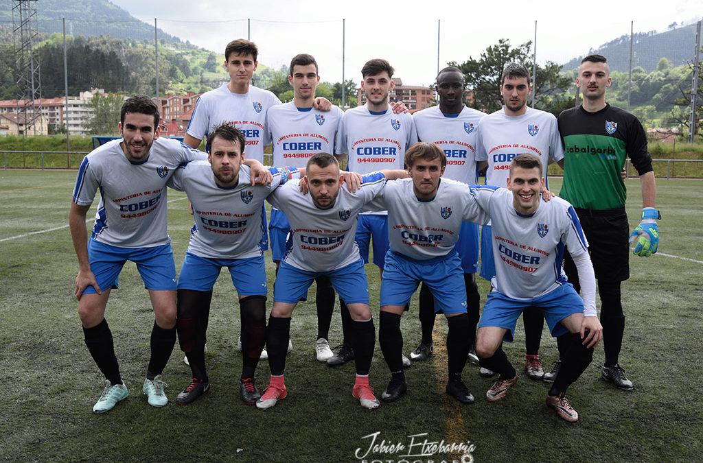 Una tarde de fútbol en Basteita.