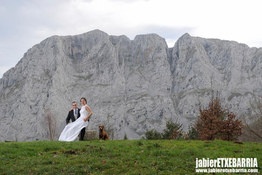 Reportaje de Boda, Oihana e Igor. Parque Natural de Urkiola.